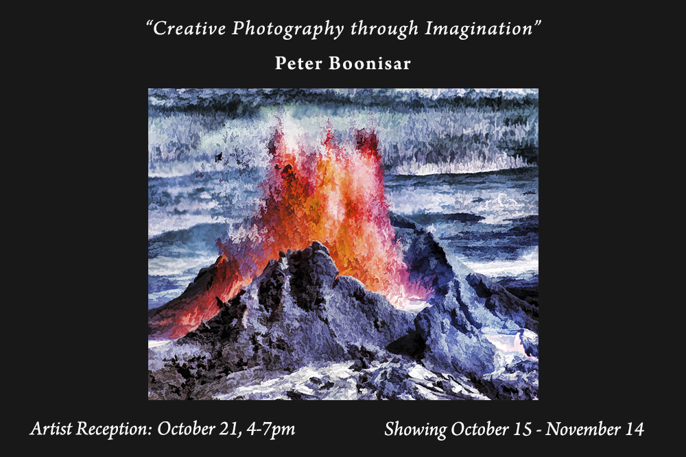 Peter Bonnisar now showing at The Photo Shop in SLO, CA