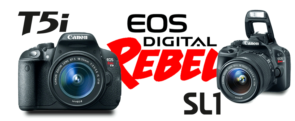 Canon Rebel 5ti & SL1 at The Photo Shop